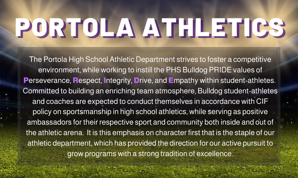PHS Athletics Mission Statement