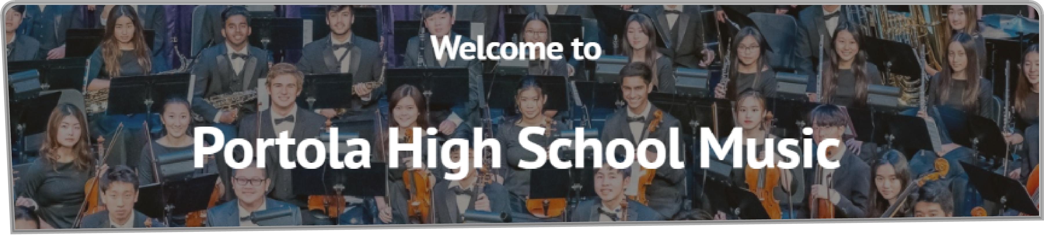 Portola High Music Website