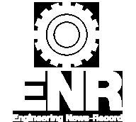ENR logo with gear icon