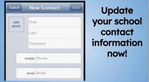 Contact Screen