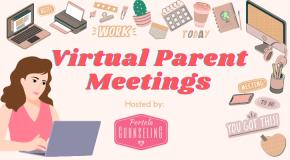 Virtual Parent Meeting Flyer