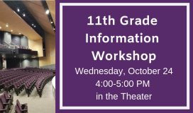 11th Grade Information Workshop