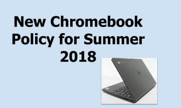 Chromebook Policy
