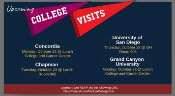 October College Visits