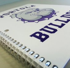 student planner notebook