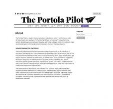 Portola Pilot About Page Image