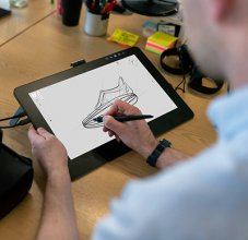 Drawing Application on Tablet